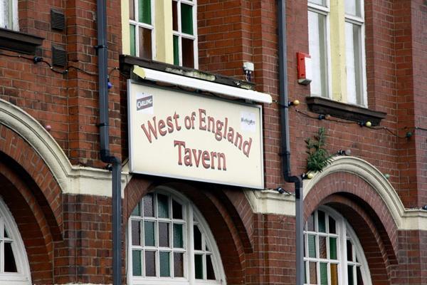 West of England pub, Newport, Gwent by ckristoff