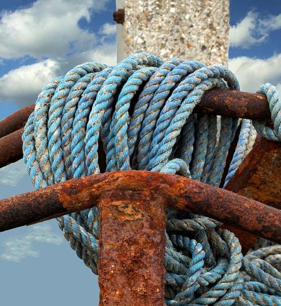 Rope and Rust 1 by pamelajean