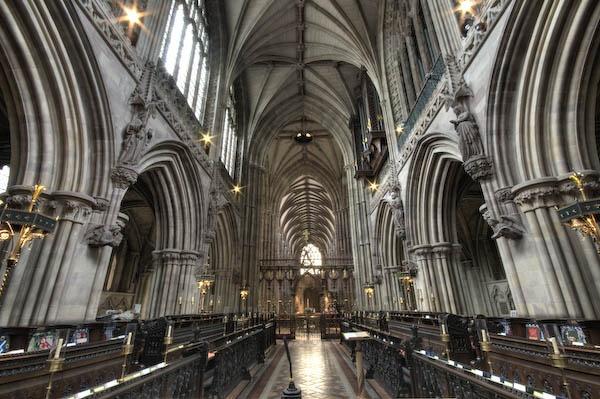 Lichfield cathedral by Strobekid