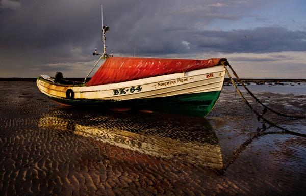 Northumberland Fishing boat by graeme34