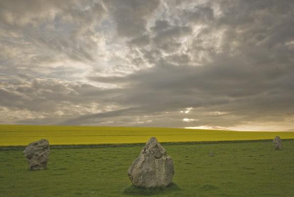 Avebury Stones by bolebrown