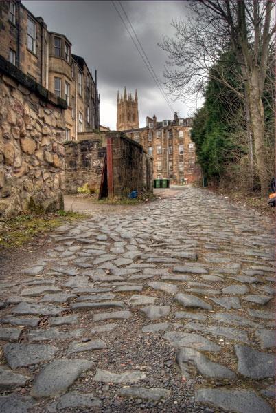 Lynedoch Crescent Lane by BubbaG2000