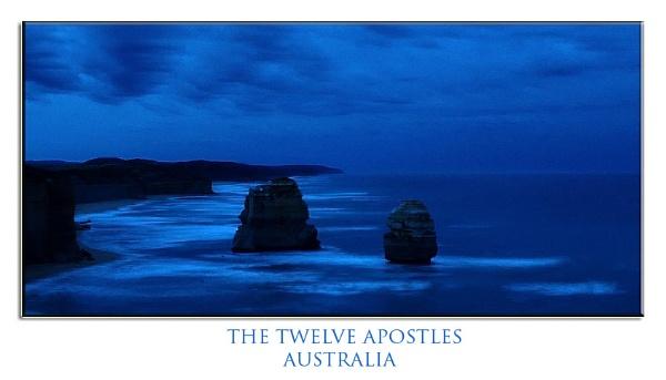 The twelve apostles by davidsaenzchan
