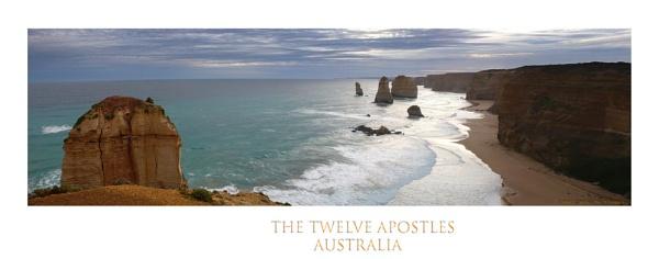 The Twelve apostles panorama by davidsaenzchan