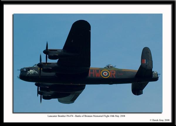 Lancaster Bomber by DerekLG