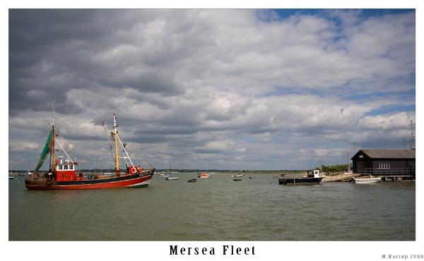 Mersea Fleet by markharrop