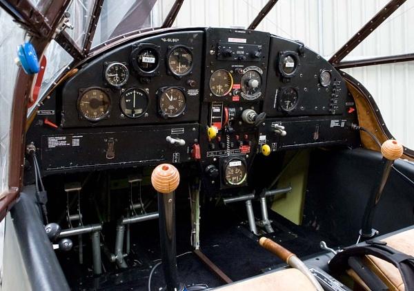 Bücker Bü 181 cockpit by steveb