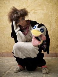 Penguin alone