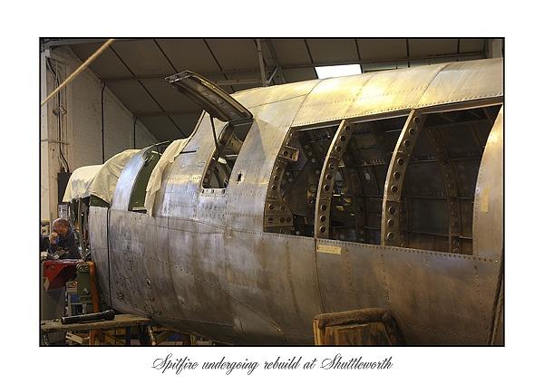 Spitfire rebuild by mumfie2003