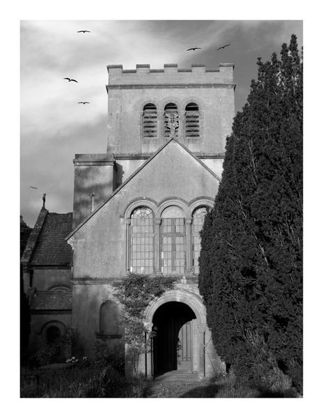 Boduan Church by Macnibbler