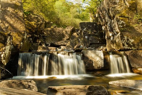 Bracklinn Falls by sandyd