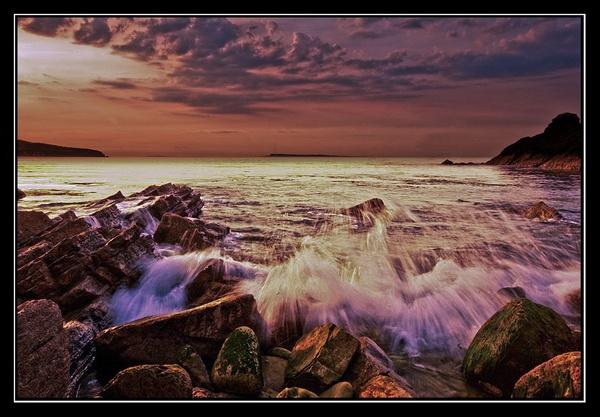 Jurassic Sunset #1 by Scutter