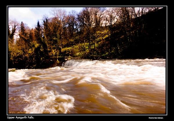 Fast Flowing Falls by steve_r