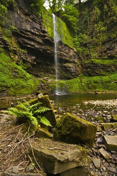 Henrhyd Falls by sneenky