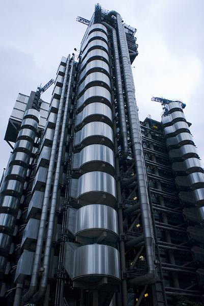 lloyds of London Headquarters by Vixs