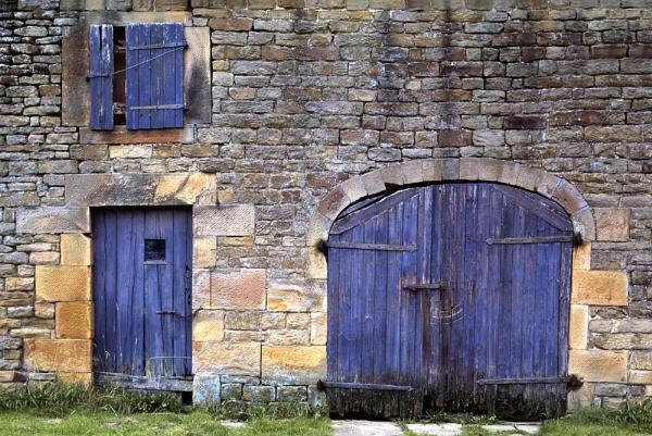Blue Barn Doors by deniswest