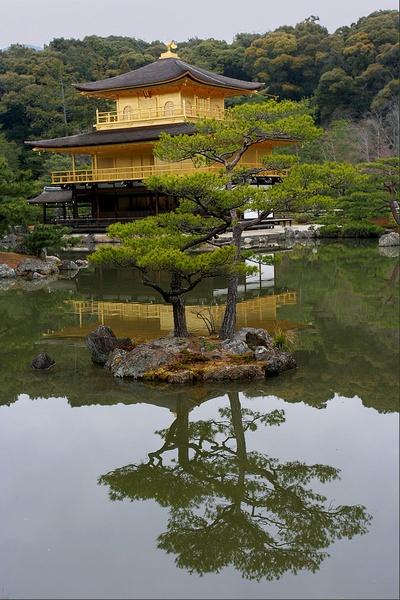 Kinkakuji - The Golden Pavilion by Sus