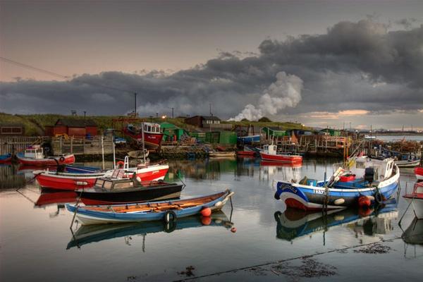 Moored at Paddys by photodocktor