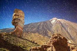 Moonlit Teide