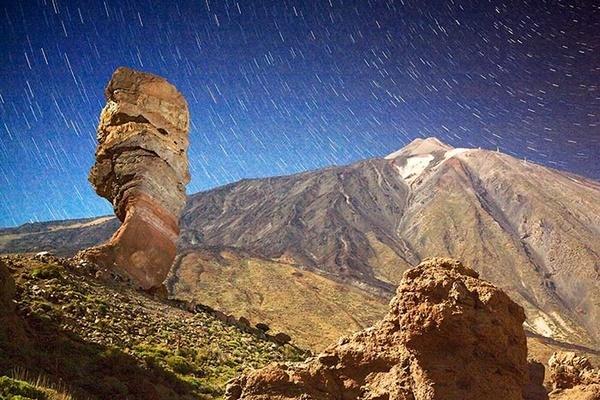 Moonlit Teide by MarcPK