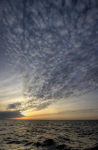 Baltic sunset by kasv
