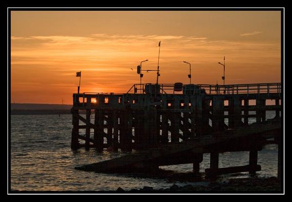 sunset by clemo2k1