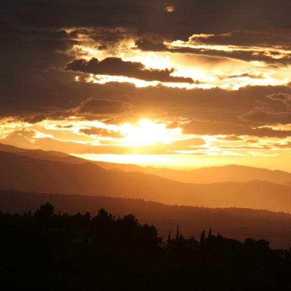 Pyrenees sunset by EDan