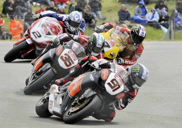 Leon Haslam leads.. by KevinEllison