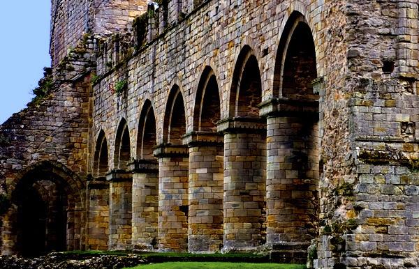 Buildwas Abbey Crop by DeSilver