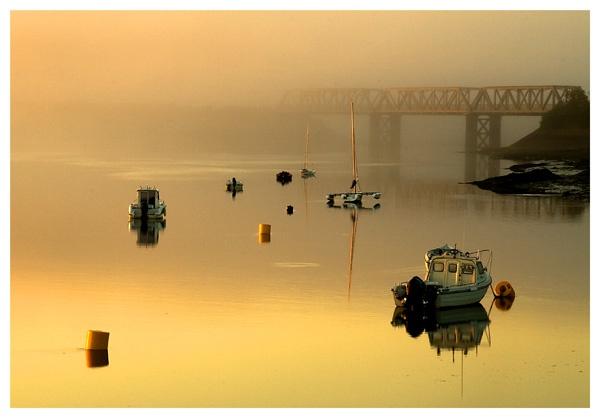 Bridge Sunrise by ljmp