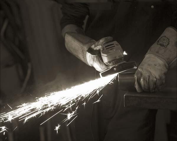 Titanium sparks by zarquon