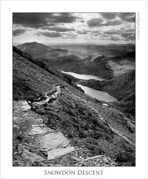 Snowdon Descent by marschp