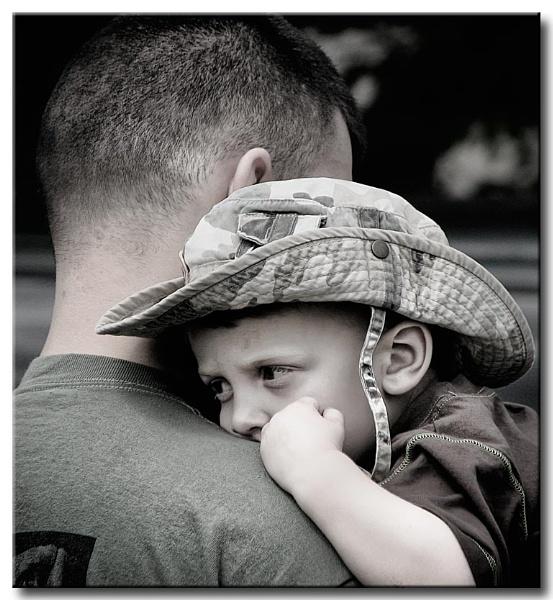Dads Shoulder by proz