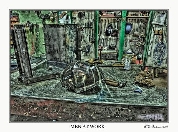 Men At Work by sawdust