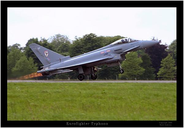 Eurofighter Typhoon by mark1309