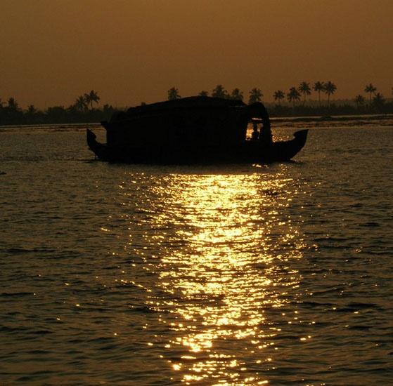 Golden sun by sekhar_guna