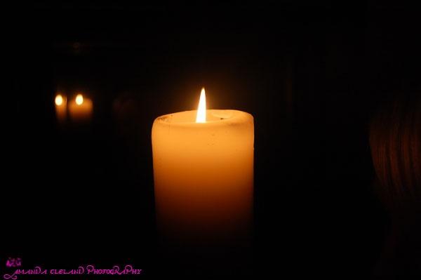 Candle Light by AmandaCleland