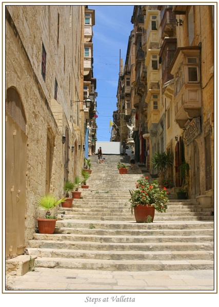 Steps at Valletta by Ray42