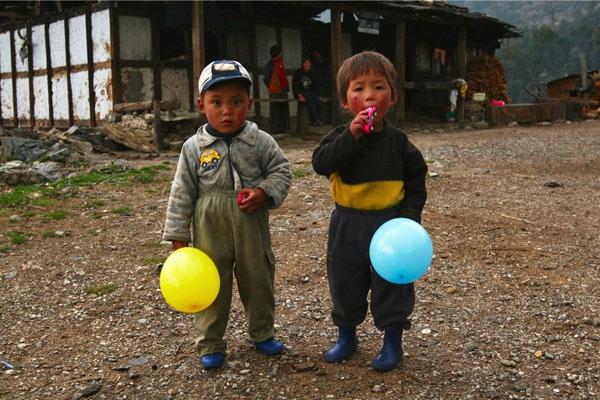 Children of Bhutan by focusss73