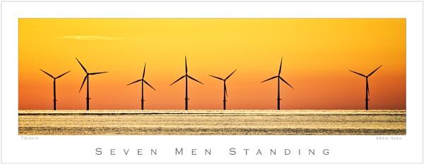 Seven Men Standing by sherlob