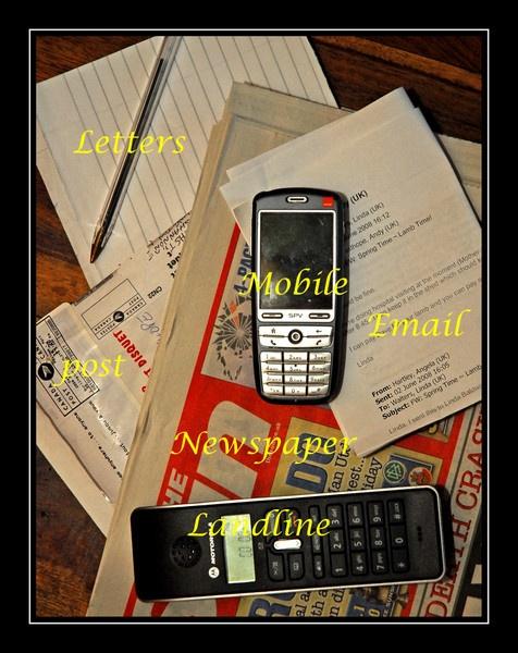 """Monday Night Challenge \""""Communication\"""" by Paulio"""