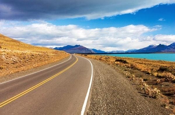 Road to Moreno Glacier. Argentina by kokkamia