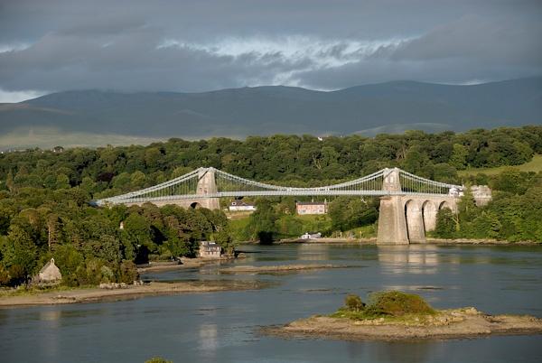 Menai Bridge by Museman