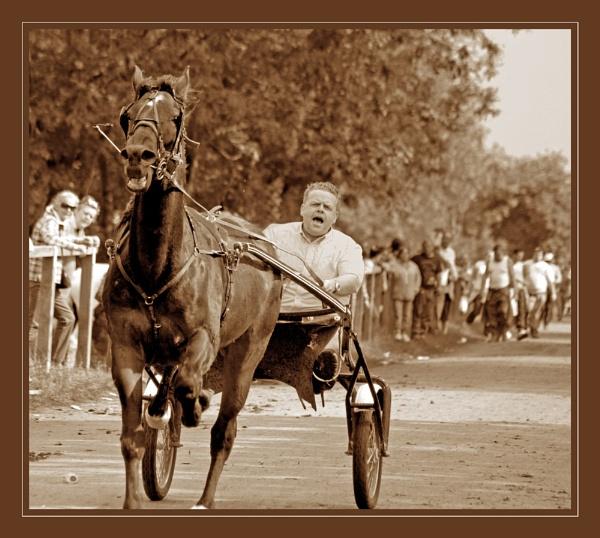 Appleby Fair Races by blondiebee