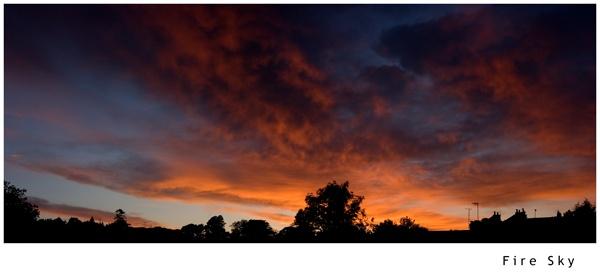Fire Sky by 11thearlofmar