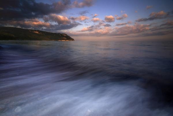 Sunset and sea, blah blah blah..... by tavm