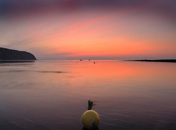 Robin Hood Bay Sunrise 2 by Hailwood