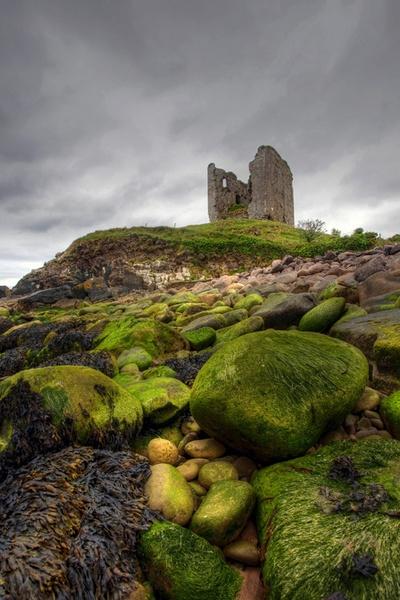 Minard Castle near Dingle by JGCurry