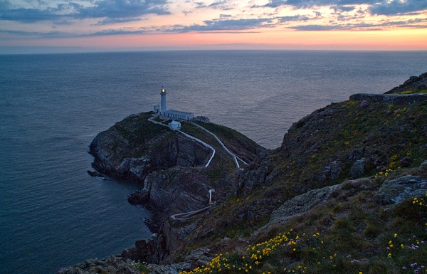 South Stack Sunset by WelshKiwi