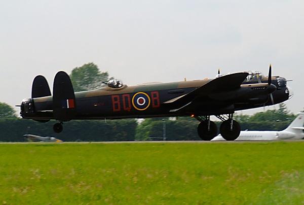 Lancaster Bomber by Georgie